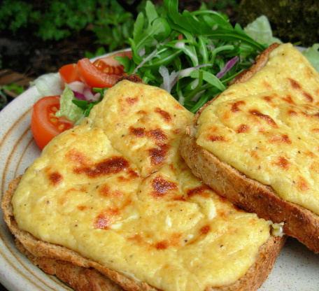 Welsh Rarebit Dish
