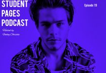 Student Pages Podcast: Jake Manley
